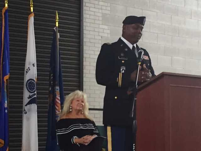 Dr. Jason Wray, US Army Retired and Principal at East Bladen High School, Thank you!