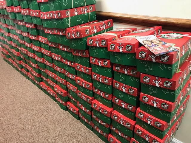 Bladen and Columbus Operation Christmas Child