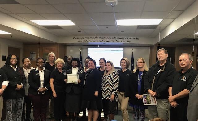 Bladen County Schools Number 1 in NC