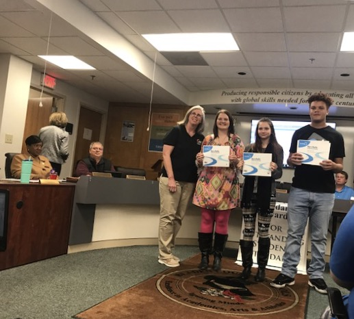 Board of Education celebrates awards and listens to concerns