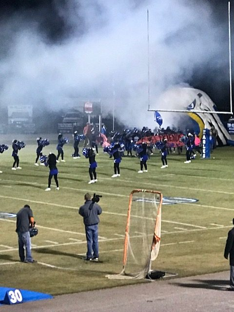 NCHSAA 2A Football Play-offs: East Bladen 68, Greene Central 28