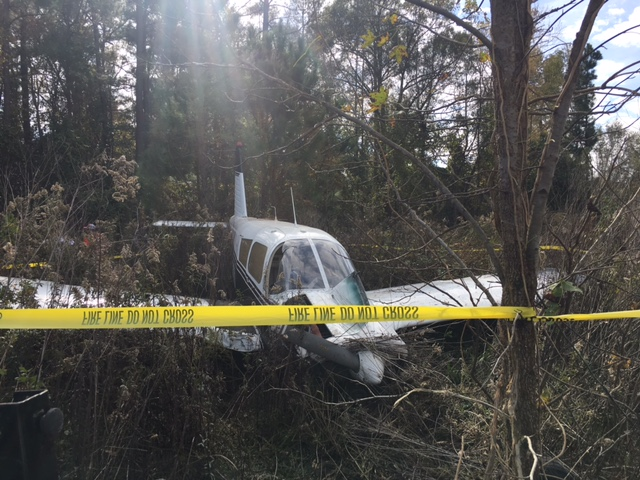 Plan crashes in Bladenboro