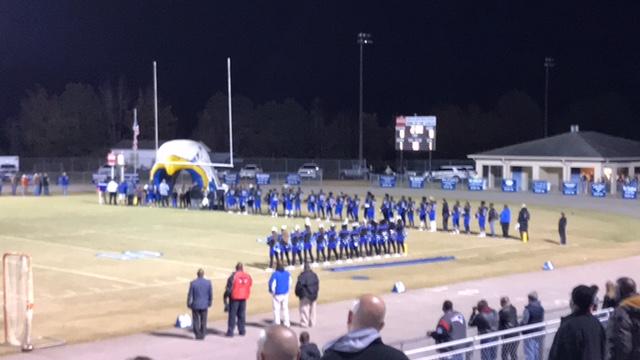East Bladen High School last game in playoffs