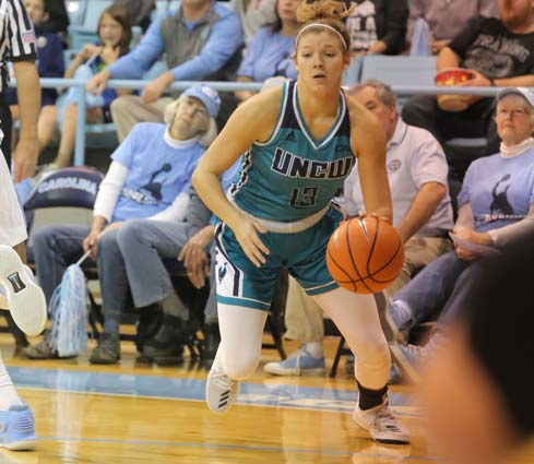 Suggs Receives UNCW Basketball Scholarship
