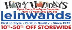 Revised leinwands banner ad for holidays