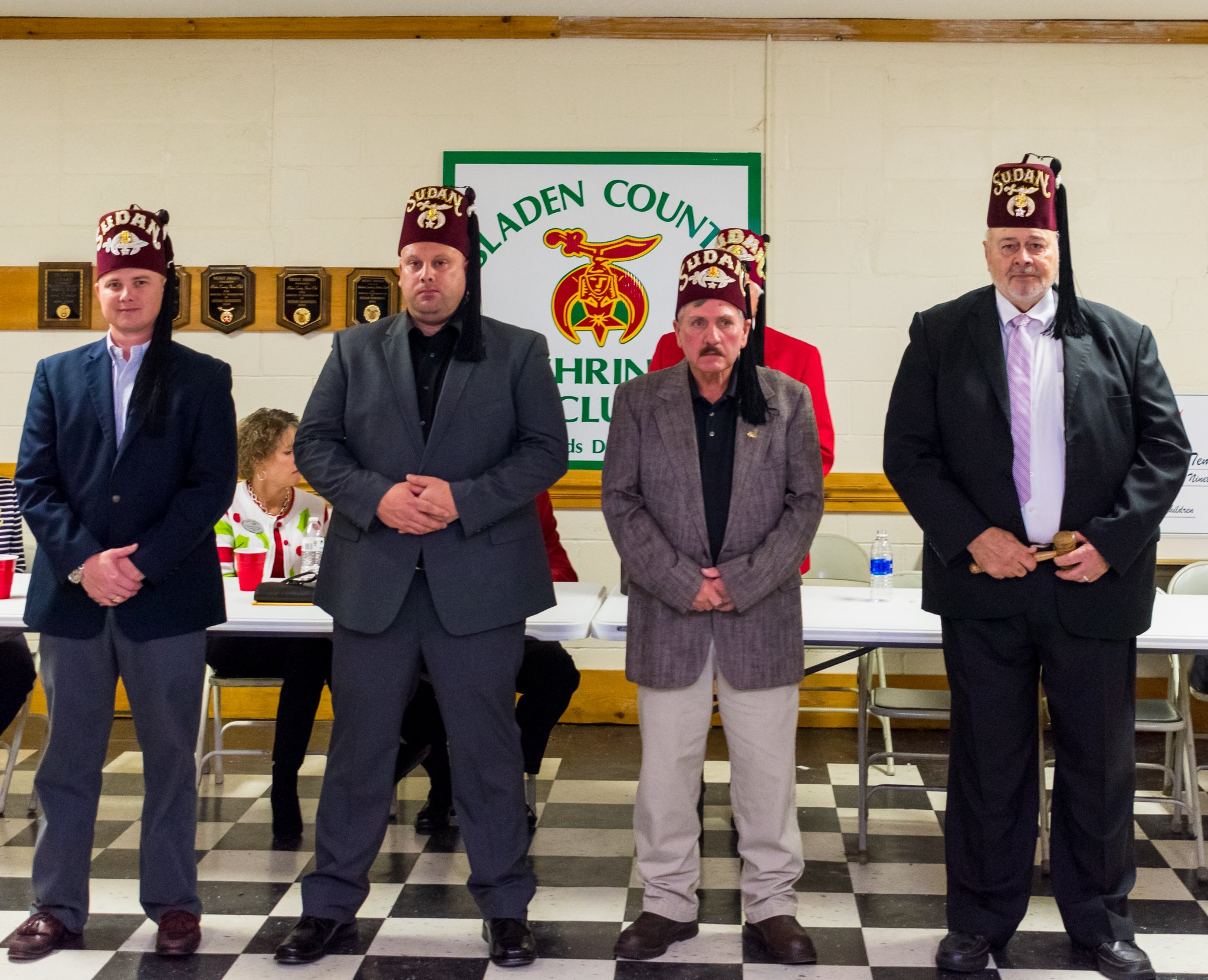 Bladen County Shriners install new officers for 2018