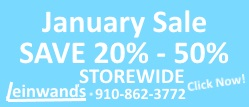 Leinwands January Sale