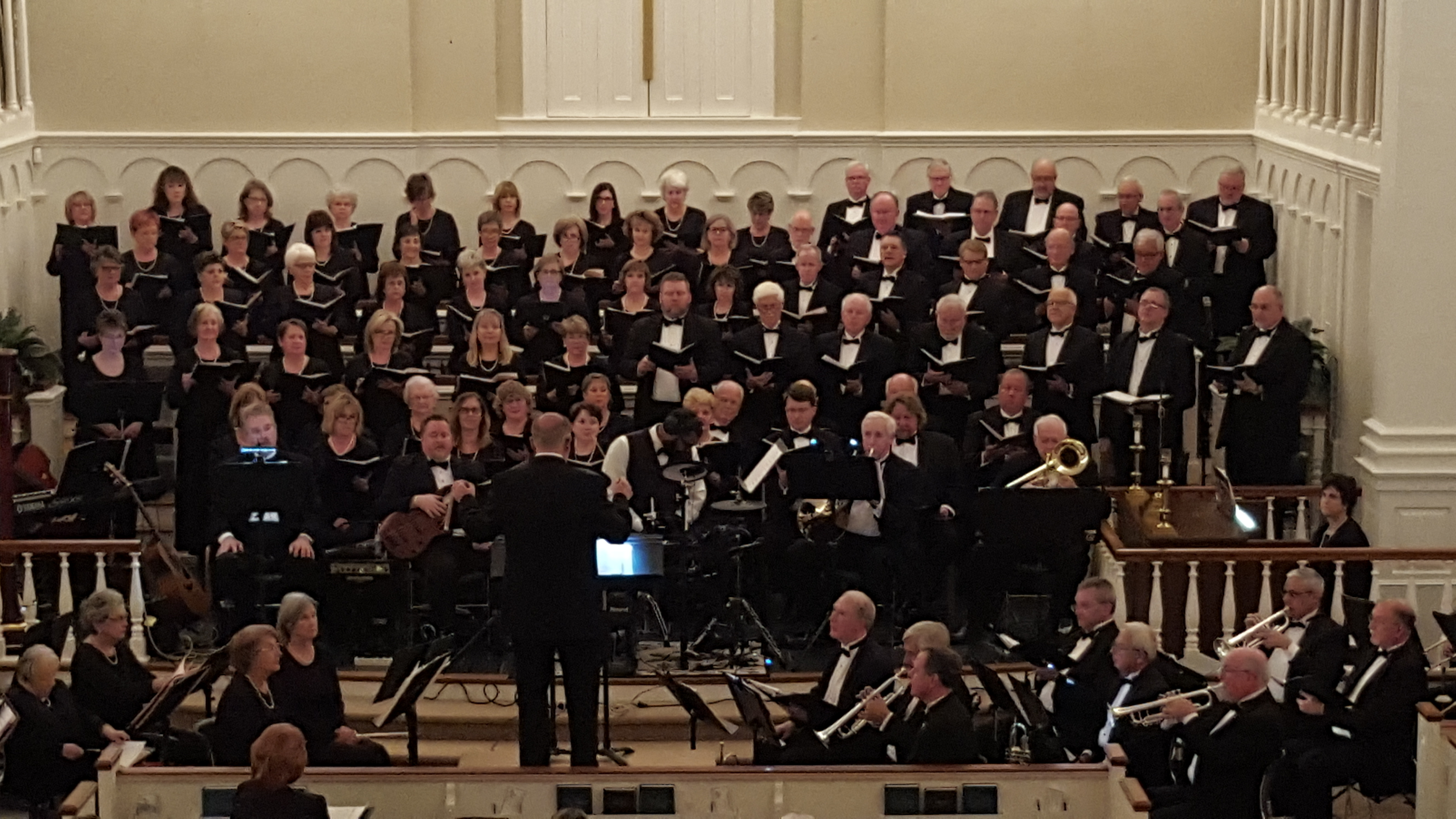 NC Baptist Singers and Orchestra perform in Bladen County
