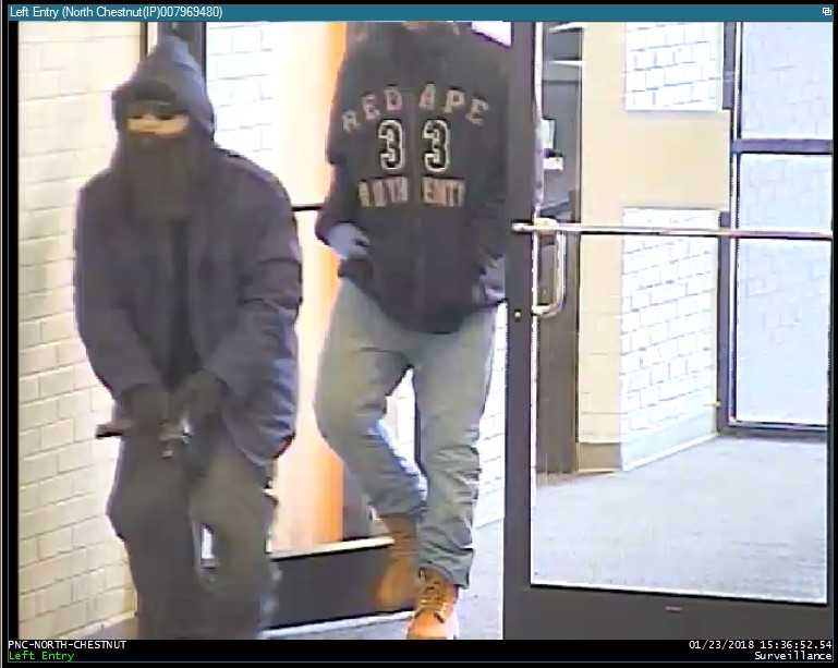 PNC Bank Robbery Suspects 3 and 4