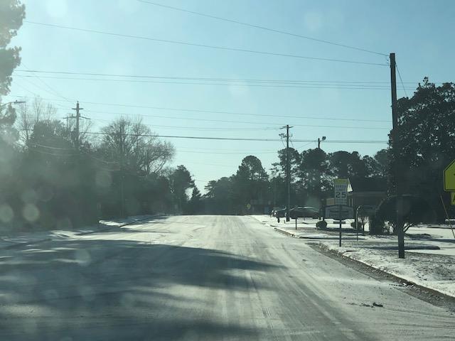 Snow 2018 Mercer Mill Road