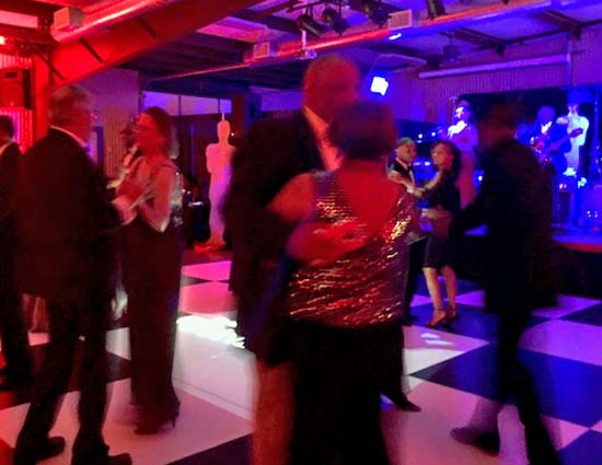 People dance at BCH Foundation Gala
