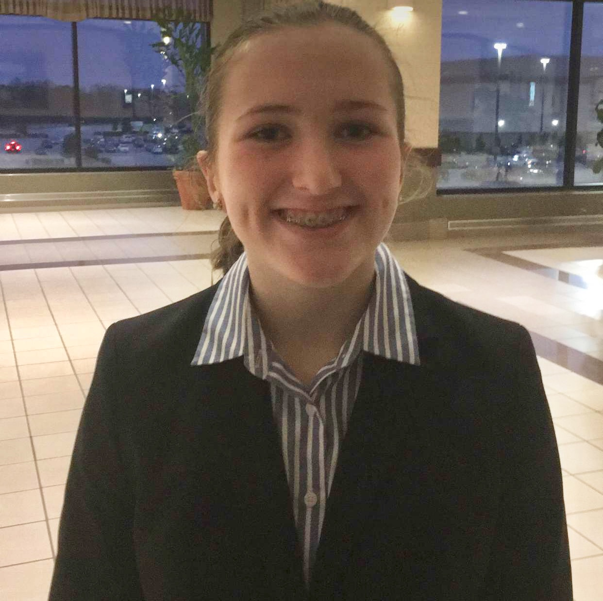 Cate DeVane State Jr Beta Secretary