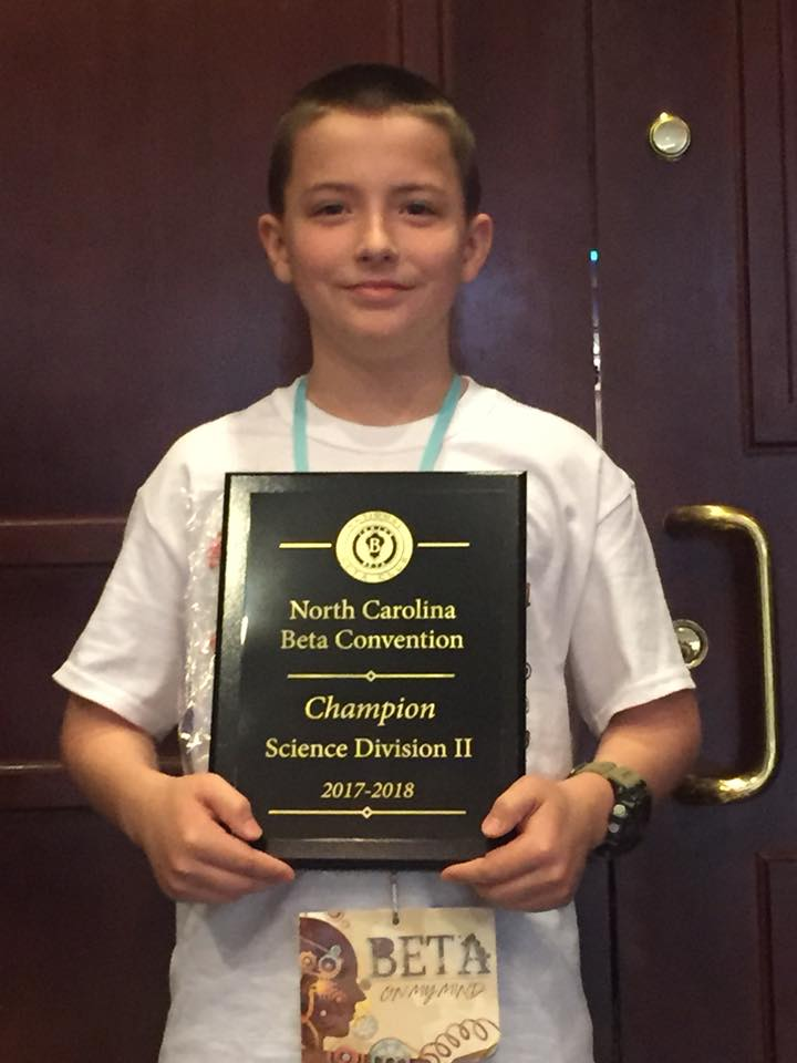 Elizabethtown Middle Nathaniel Stewart Jr Beta