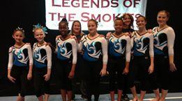 Lumberton Gymnastics Academy Legends of the Smoke