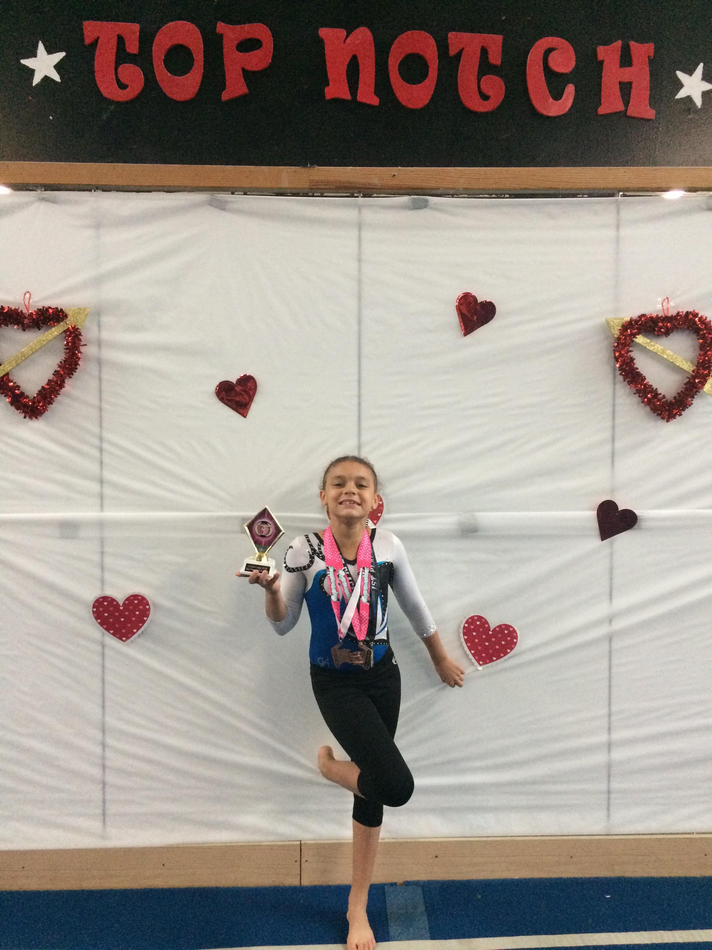 Lumberton Gymnastics Academy Lewis 1