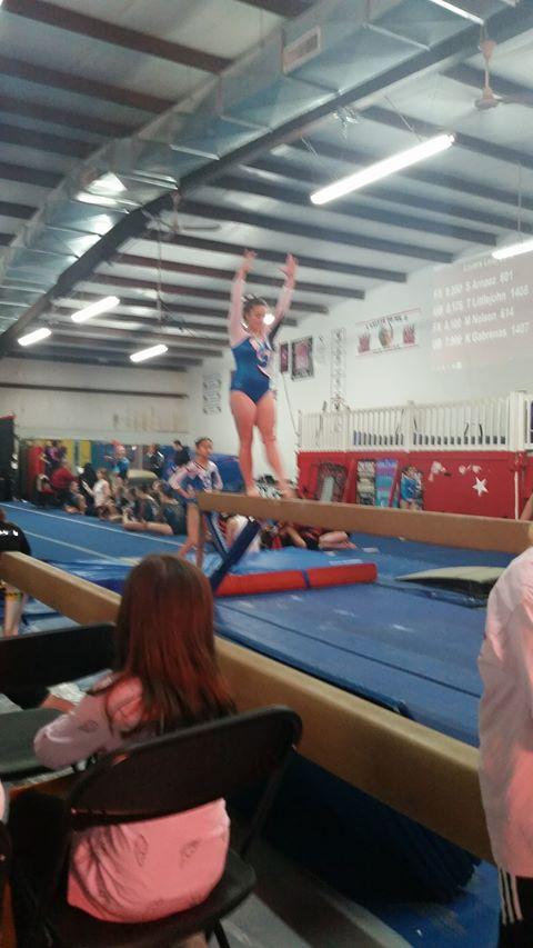 Shelby fisher Lumberton Gymnastics Academy 2