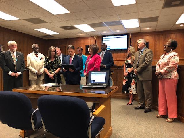 Commissioners Lisa Allison