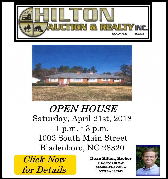 Hilton open house on South Main