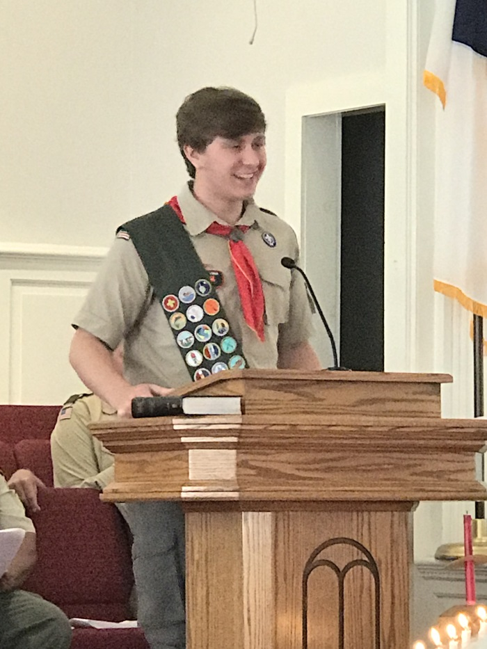 Bladen County's newest Eagle Scout Celebrated