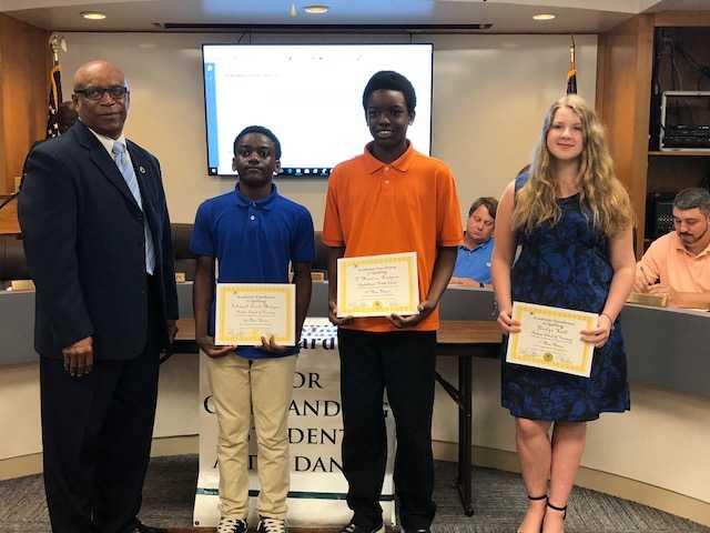Bladen County Spelling Bee Winners