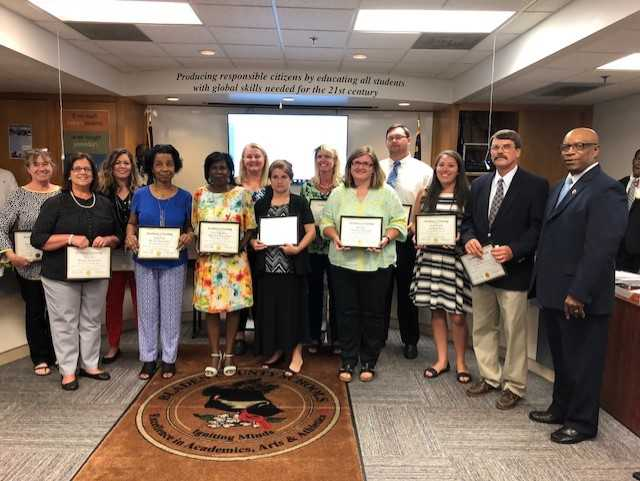Bladen County Teachers of the Year 2018