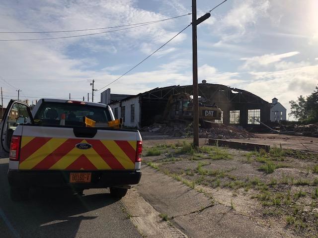 Dealership Demolished Elizabethtown 4
