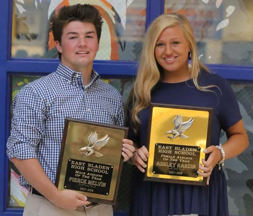 Athletes of the Year: Pierce Melvin and Ashley Hardin