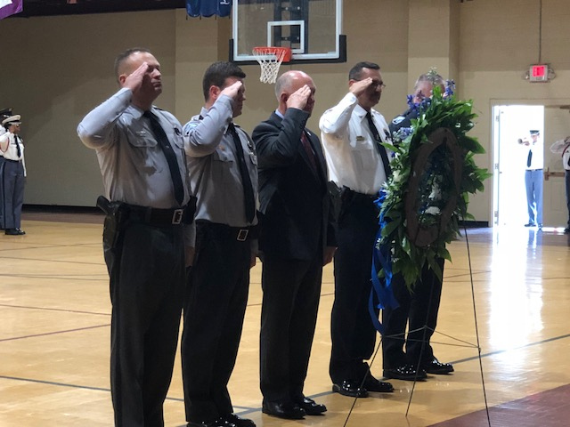 Bladen County Conducts First Peace Officers Memorial Ceremony