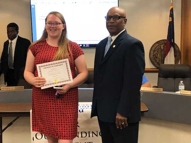 West Bladen High FBLA winner 2018