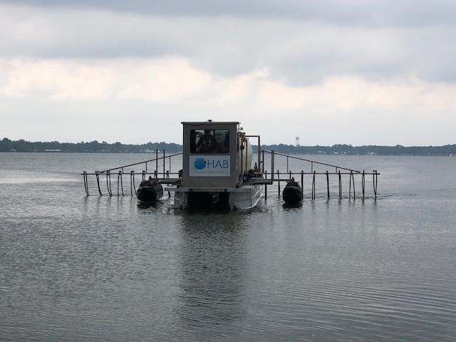 White Lake alum treatment