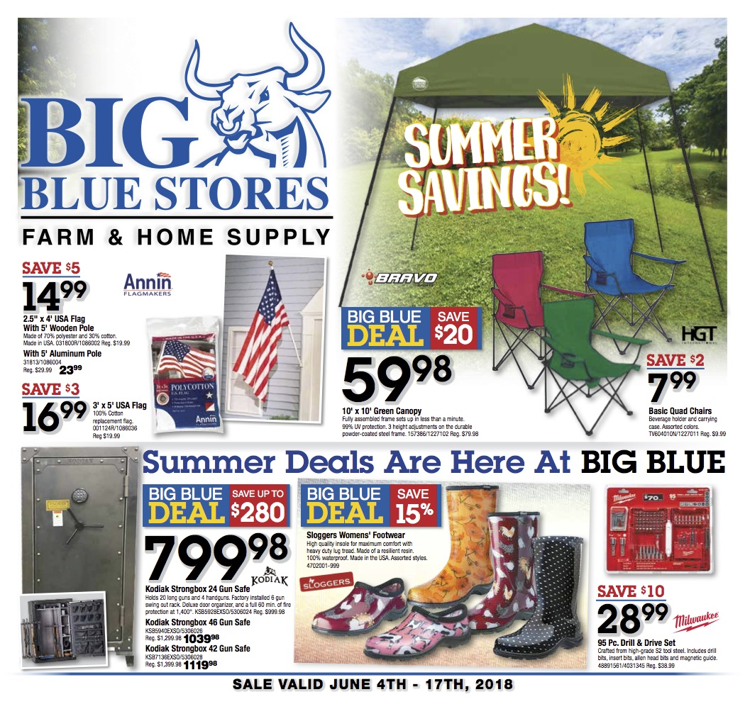Big Blue Fathers Day Summer Sale 40th Anniversary