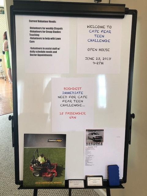 Cape Fear Teen Challenge Open House 13