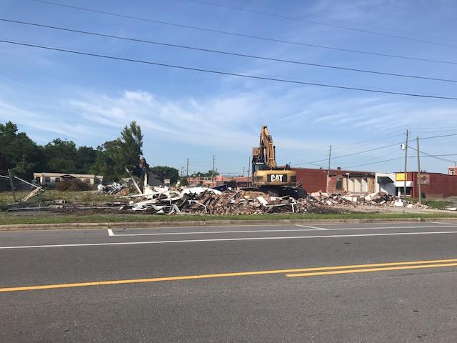 Jessup Motors demolished