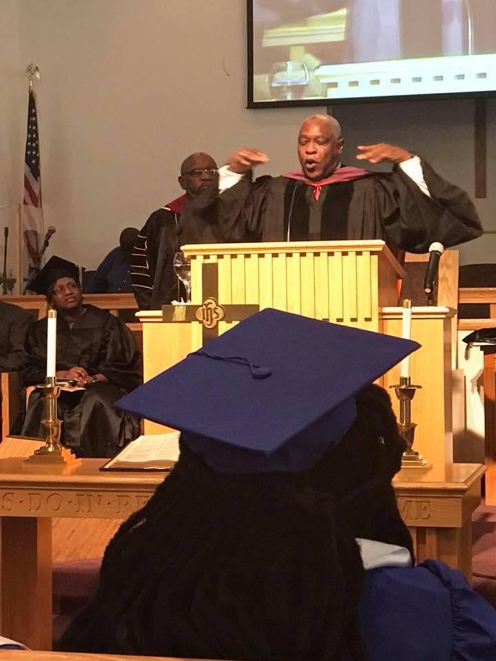 Judge Kirby speaking at da Branch