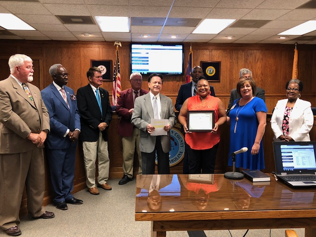 Bladen Commissioners Sonia Hopkins