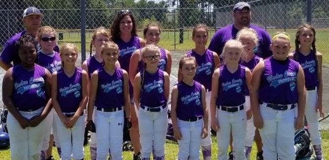 State-Wide Activities Committe 10U Sectional Softball Tournament: Bladen County 14, Fuquay-Varina 11