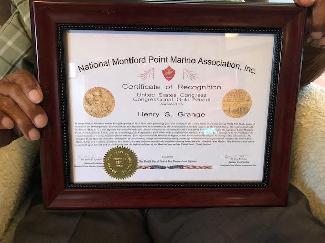 Henry Grange Congressional Gold Medal 5