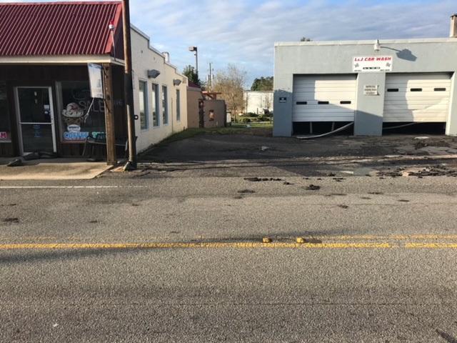 Flood Damage Bladenboro Hurricane Florence 1