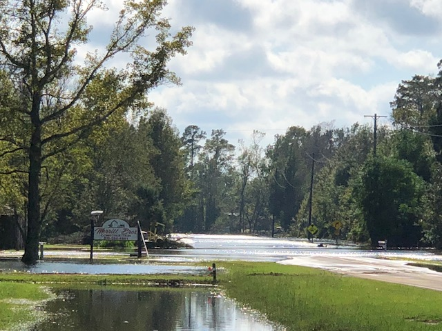 Hurricane Florence Colly Creek