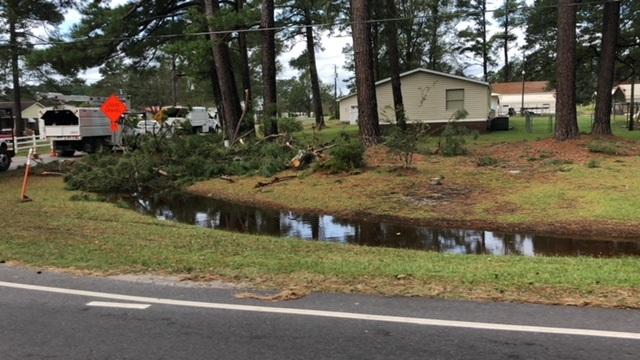 Hurricane Florence Monday Sept 17, 2018 B