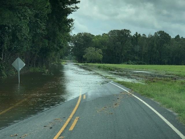Hurricane Florence Monday Sept 17, 2018