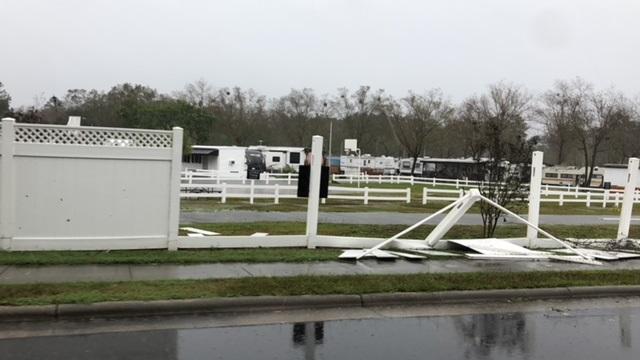 Hurricane Florence White Lake 9