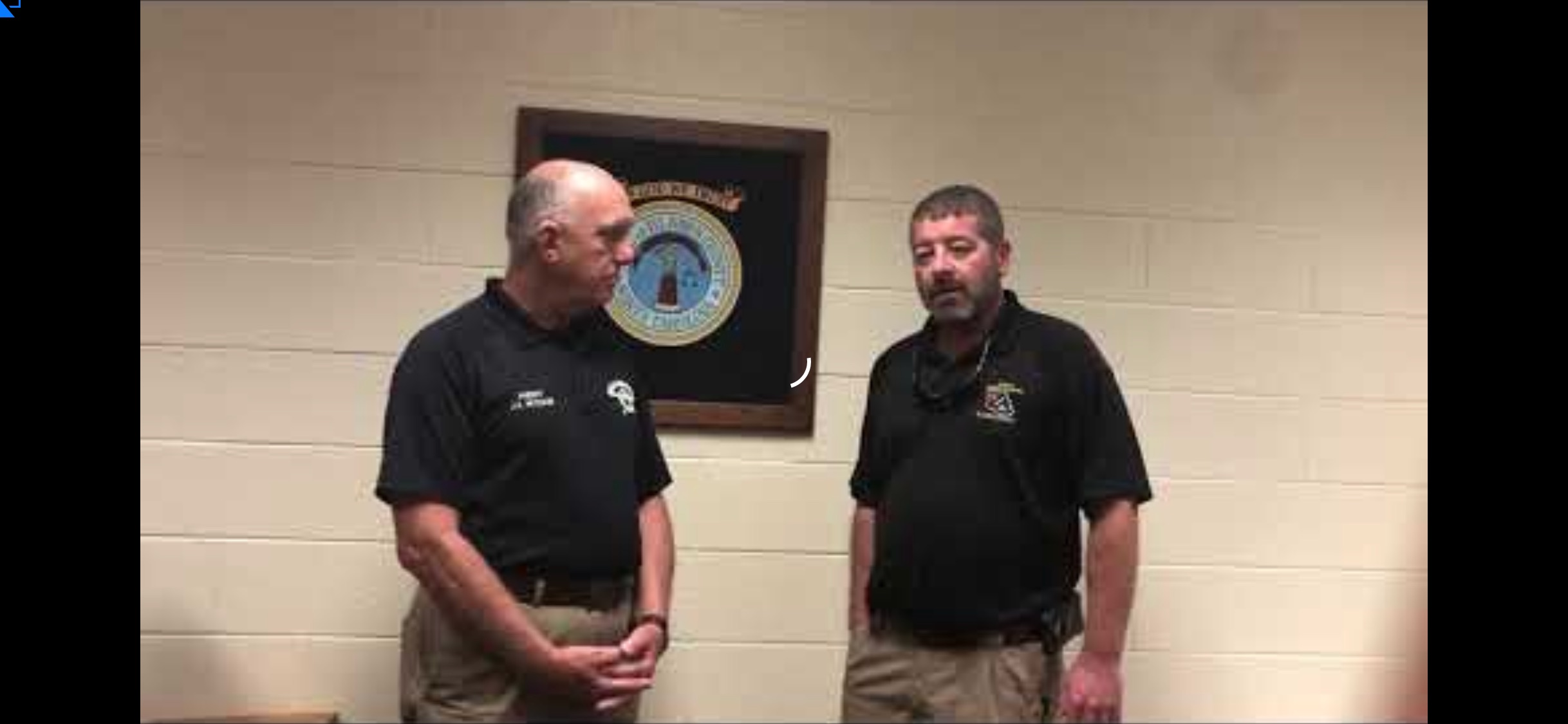 McVicker and Kinlaw with emergency management update