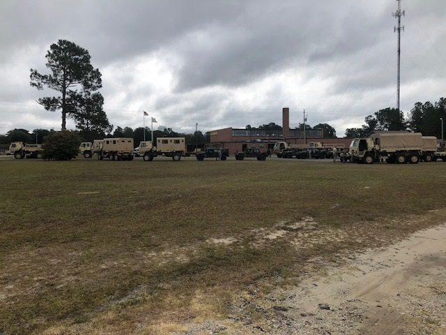 National Guard Units Hurricane Florence