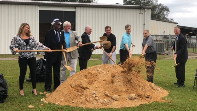 Groundbreaking held for new STEM facility
