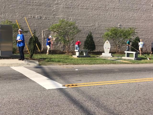 Bladenboro Clean Up Saturday 3