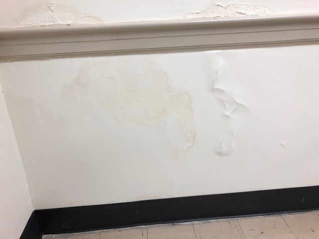 Mold found in Bladen County Courthouse, remediation under way