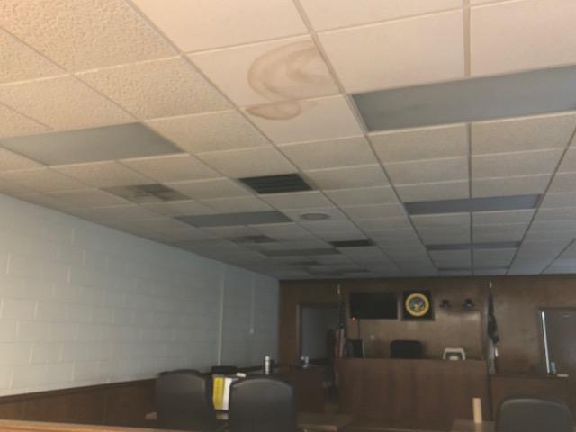 Courthouse Mold Hurricane Florence 5
