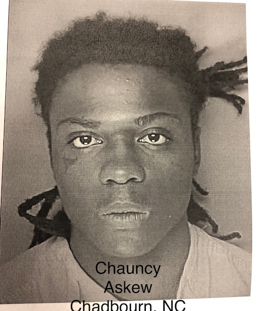 Chauncy Askew from Chadbourn NC suspect in trooper's murder