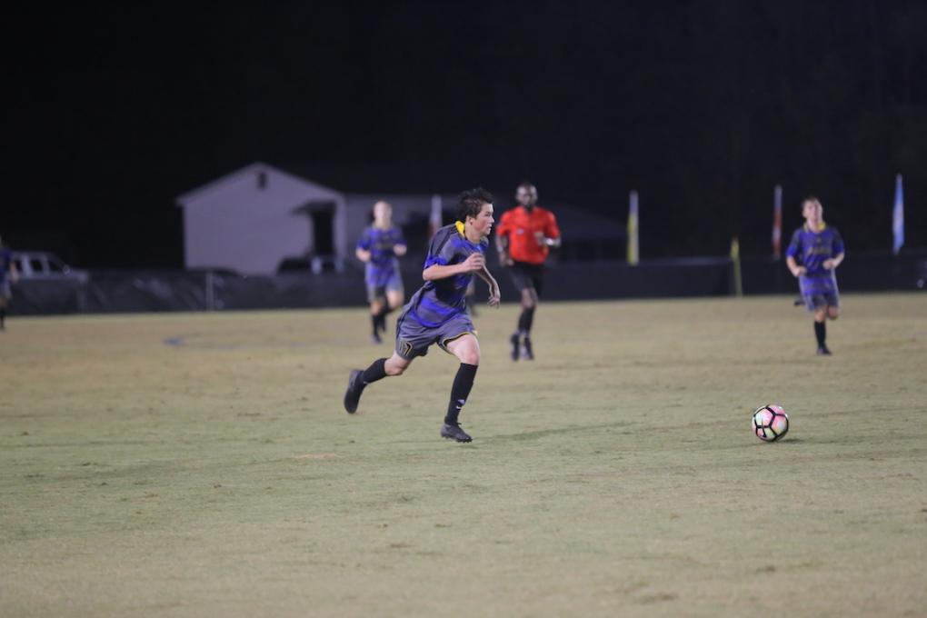 East Bladen Second Round Soccer Playoffs 1